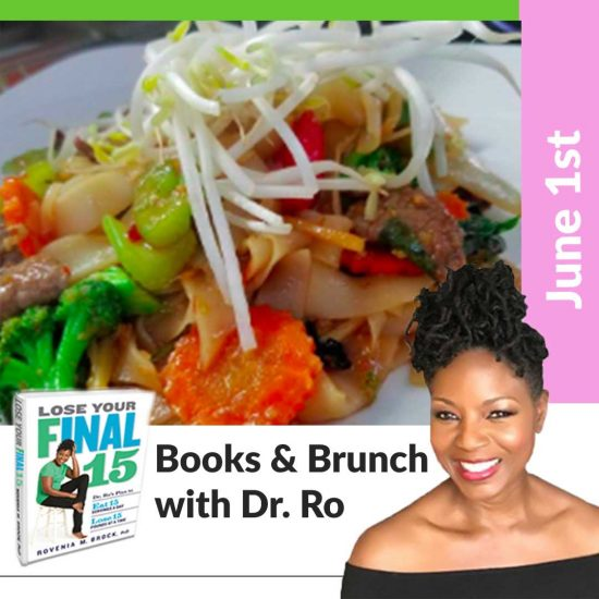 books and brunch flyer